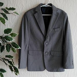Boys Izod gray suit jacket